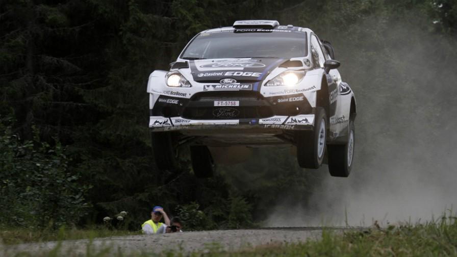źródło: wrc.com  |  Specjalne barwy Forda na Rajd Finlandii 2012