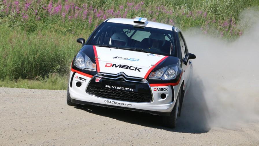 źródło: wrc.com  |  Suninen jedzie po wygraną w WRC 3. Finlandia 2014
