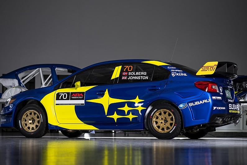źródło: twitter/Subaru USA  |  Barwy Olivera Solberga na rok 2019. Przyznam, że dla mnie jako fana Subaru jest to dosyć poruszający widok