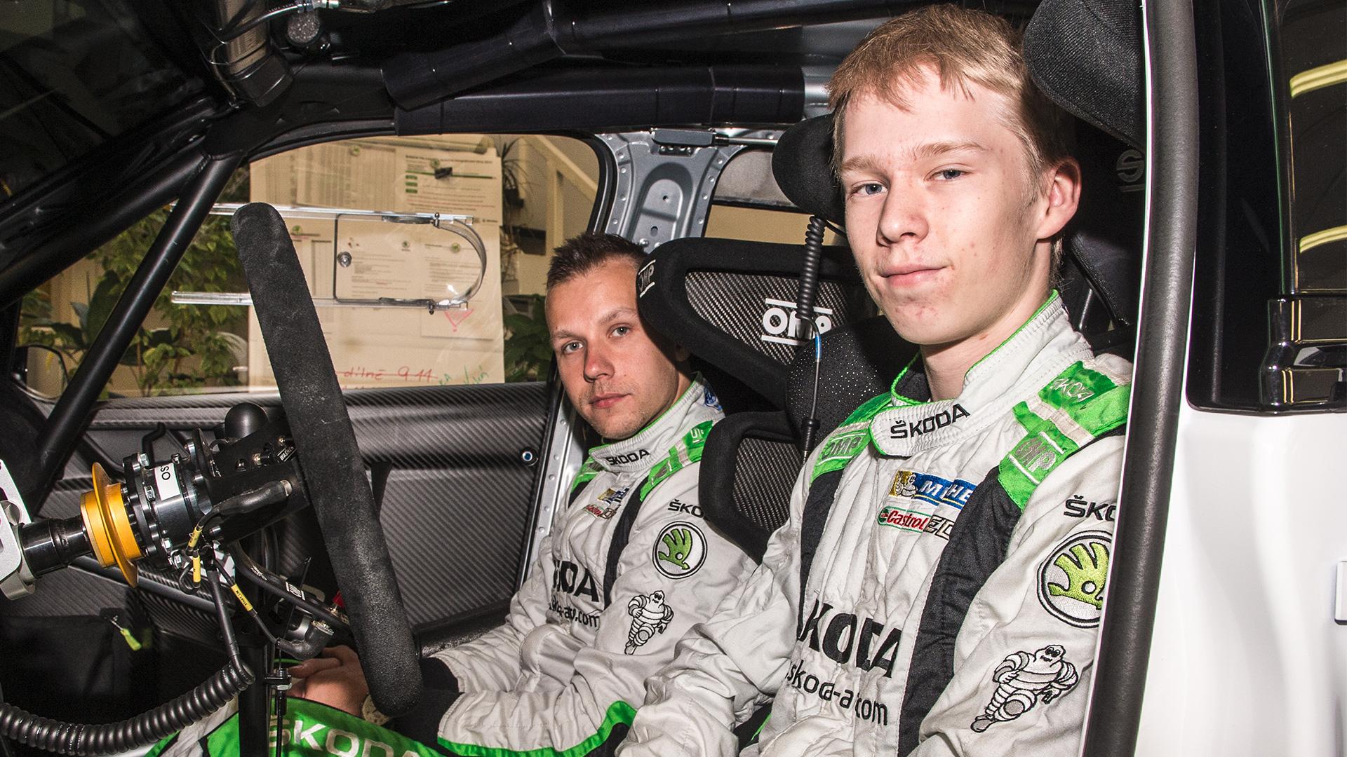 źródło: Red Bull  |  Kalle Rovanpera został najmłodszym w historii kierowcą fabrycznym
