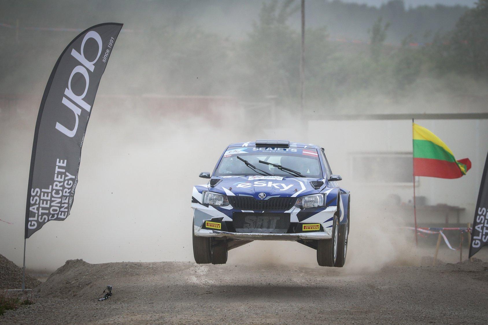 źródło: fb/ FIA ERC     Łukasz Habaj pozostaje liderem ERC po tym rajdzie