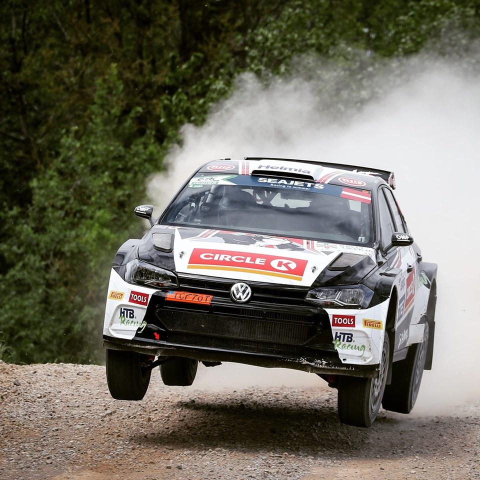 źródło: fb/ FIA ERC     Solberg był nie do zatrzymania na pierwszym etapie