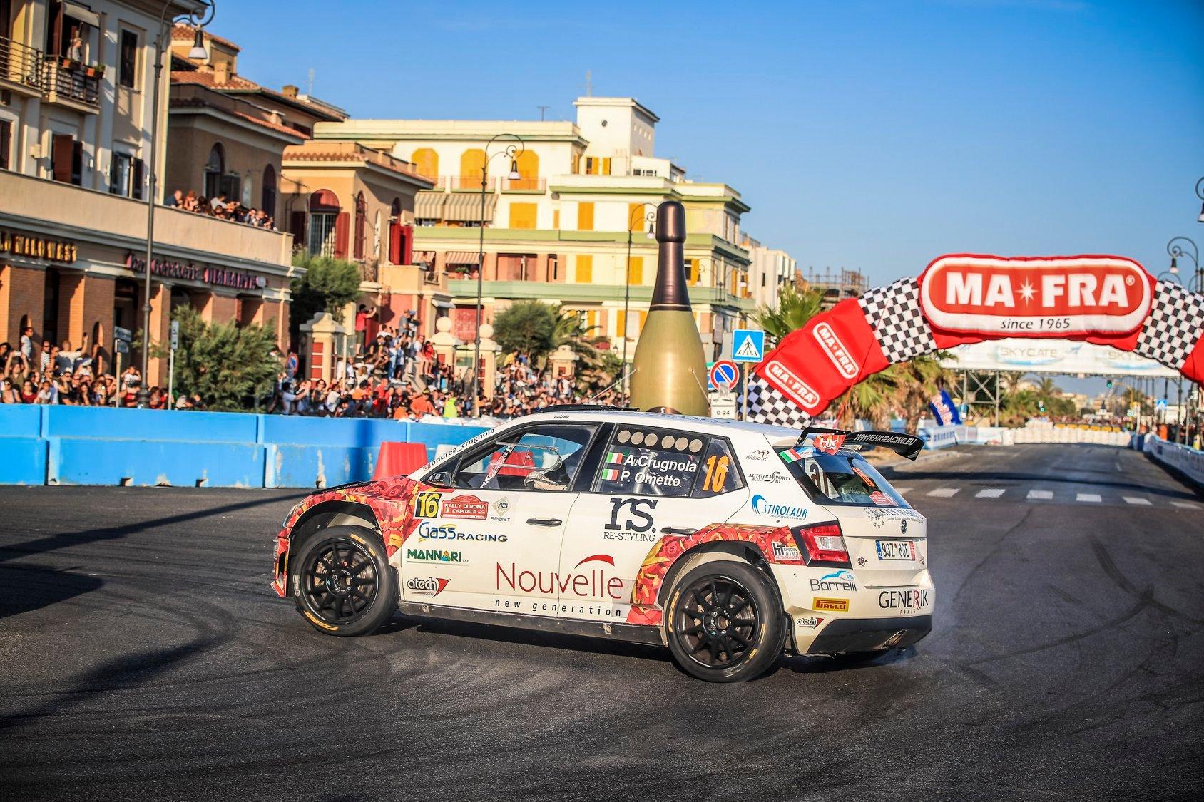 źródło; FIA ERC  |  Andrea Crugnola na ostatnim odcinku, w drodze po 3 miejsce
