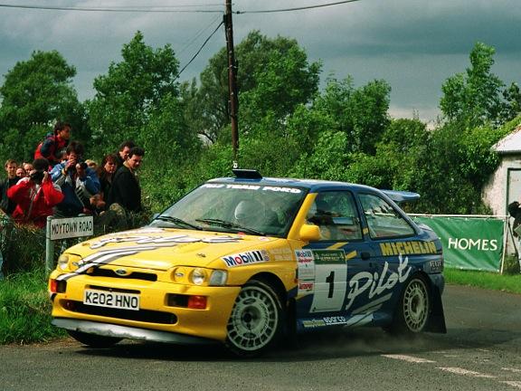 źródło: MSA | Malcom Wilson został Mistrzem WB w 1994. Tu w Rajdzie Ulster