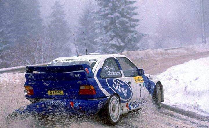 źródło: Ford | Kankkunen na Monte-Carlo w 1998