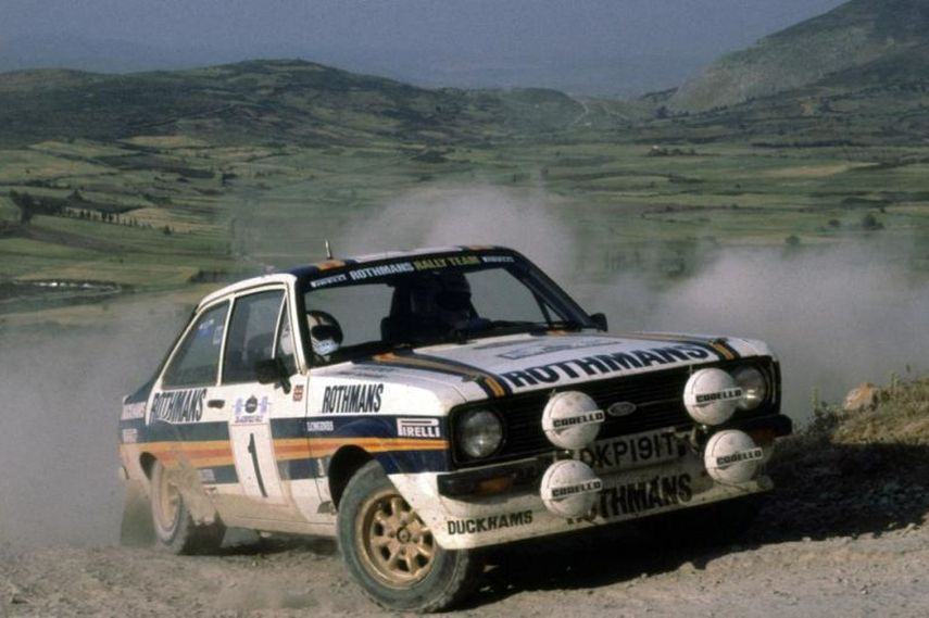 źródło: reddit | Ari Vatanen podczas Rajdu Brazylii 1981