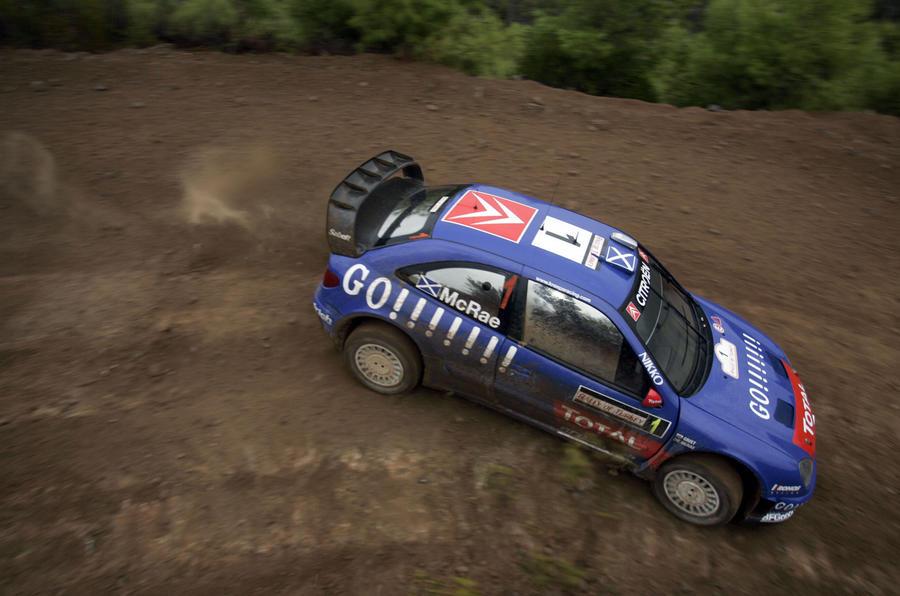 źródło: autocar.eu | Colin w swoim ostatnim starcie w WRC