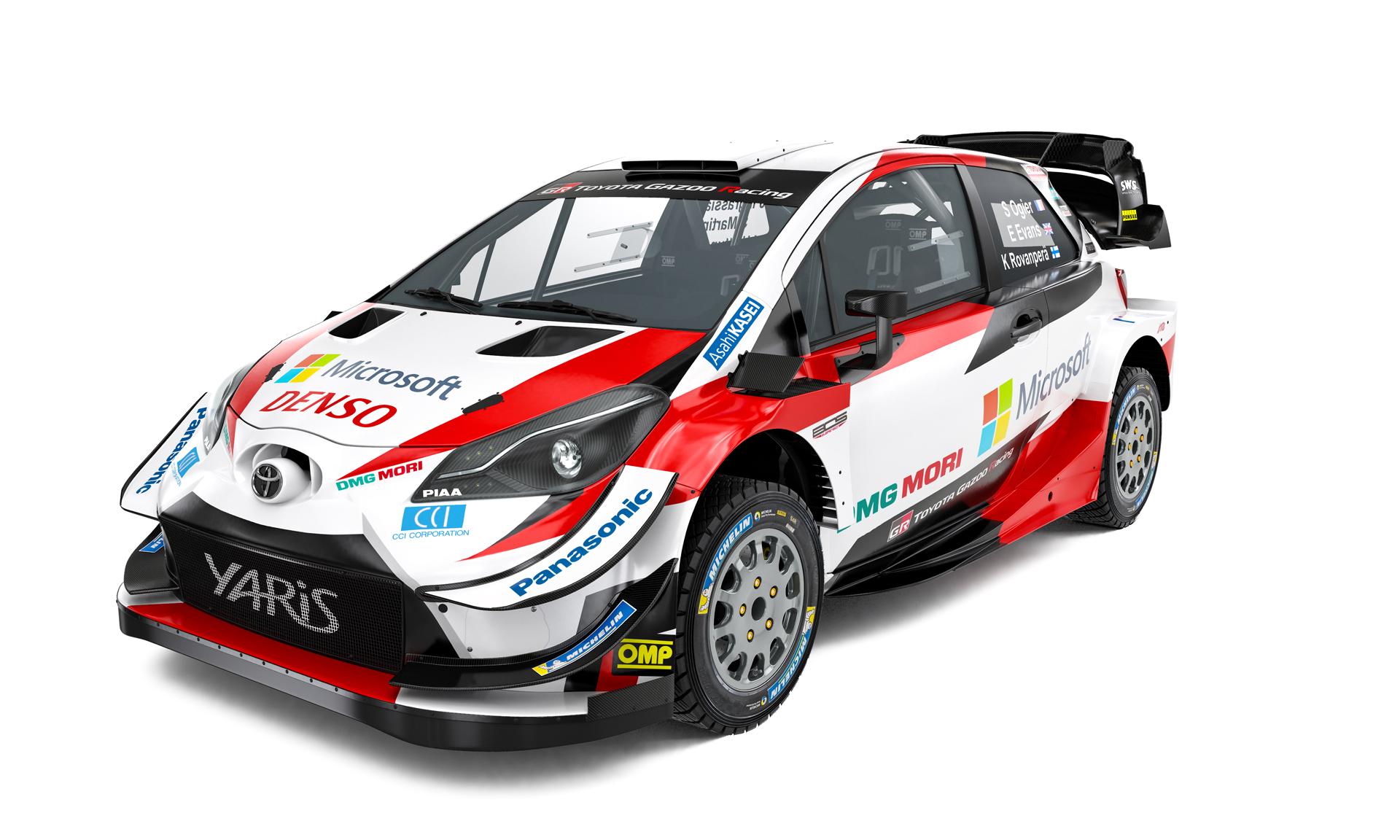 źródło: Toyota Gazoo Racing WRC   ...albo w ogóle się nie zmienia, tak jak Toyota