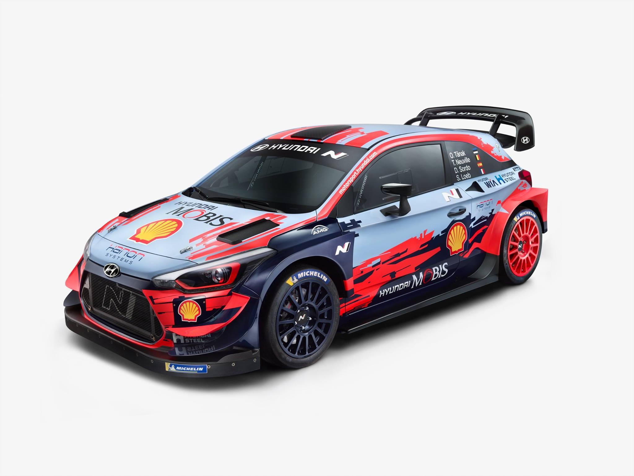 źródło: Hyundai Motorsport   Zwycięskiego malowania się nie zmienia