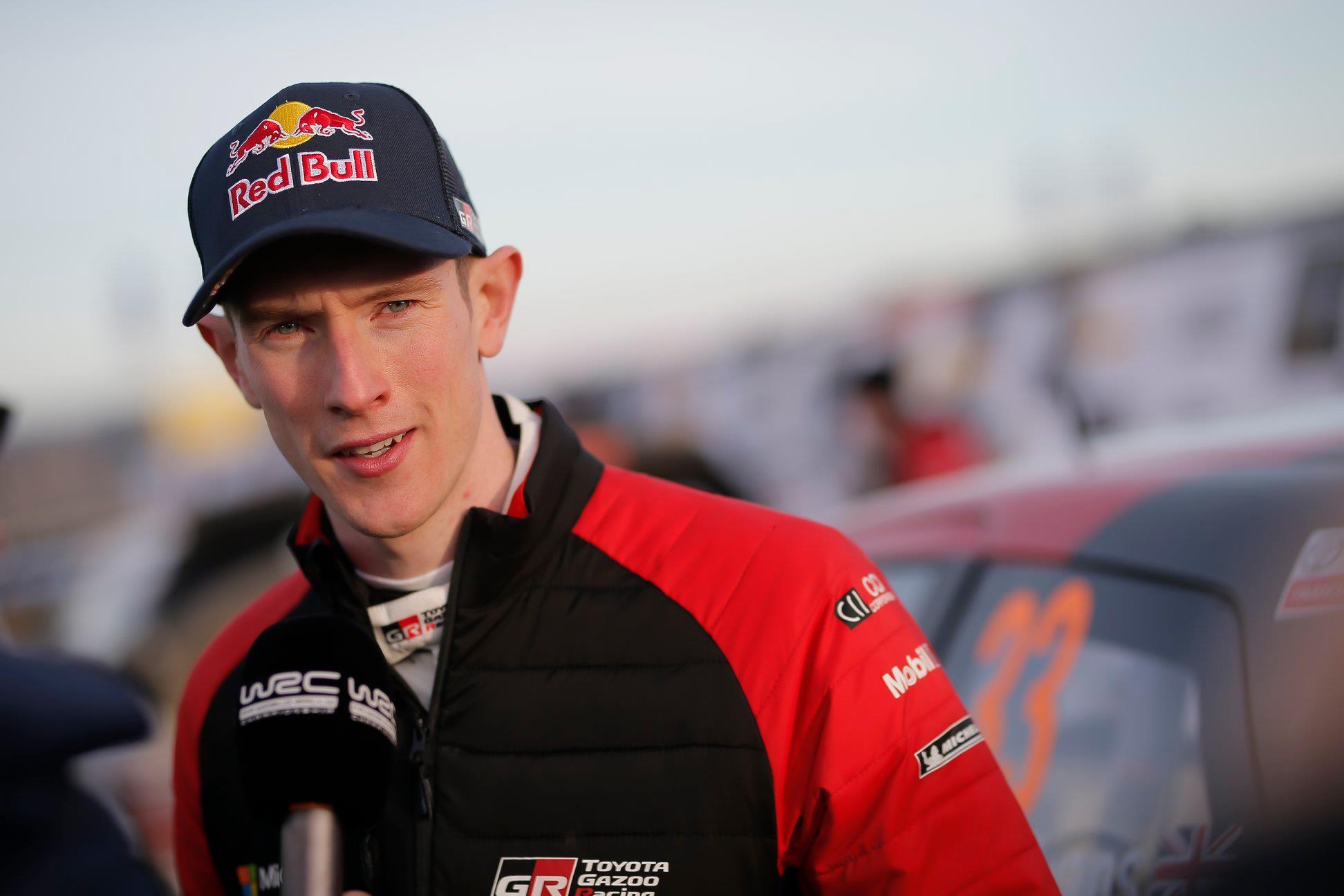 źródło: Toyota Gazoo Racing WRC | Evans jak na razie jest objawieniem tego sezonu