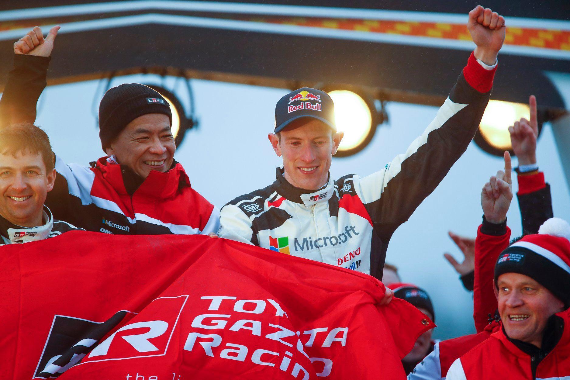 źródło: Toyota Gazoo Racing WRC | Przenosiny do Toyoty mogą pomóc Evansowi w pokazaniu potencjału