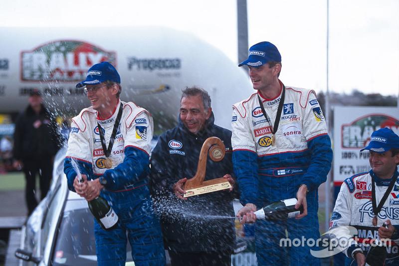źródło: Peugeot | Połączenie Gronholma i 206 WRC budziło strach w oczach rywali