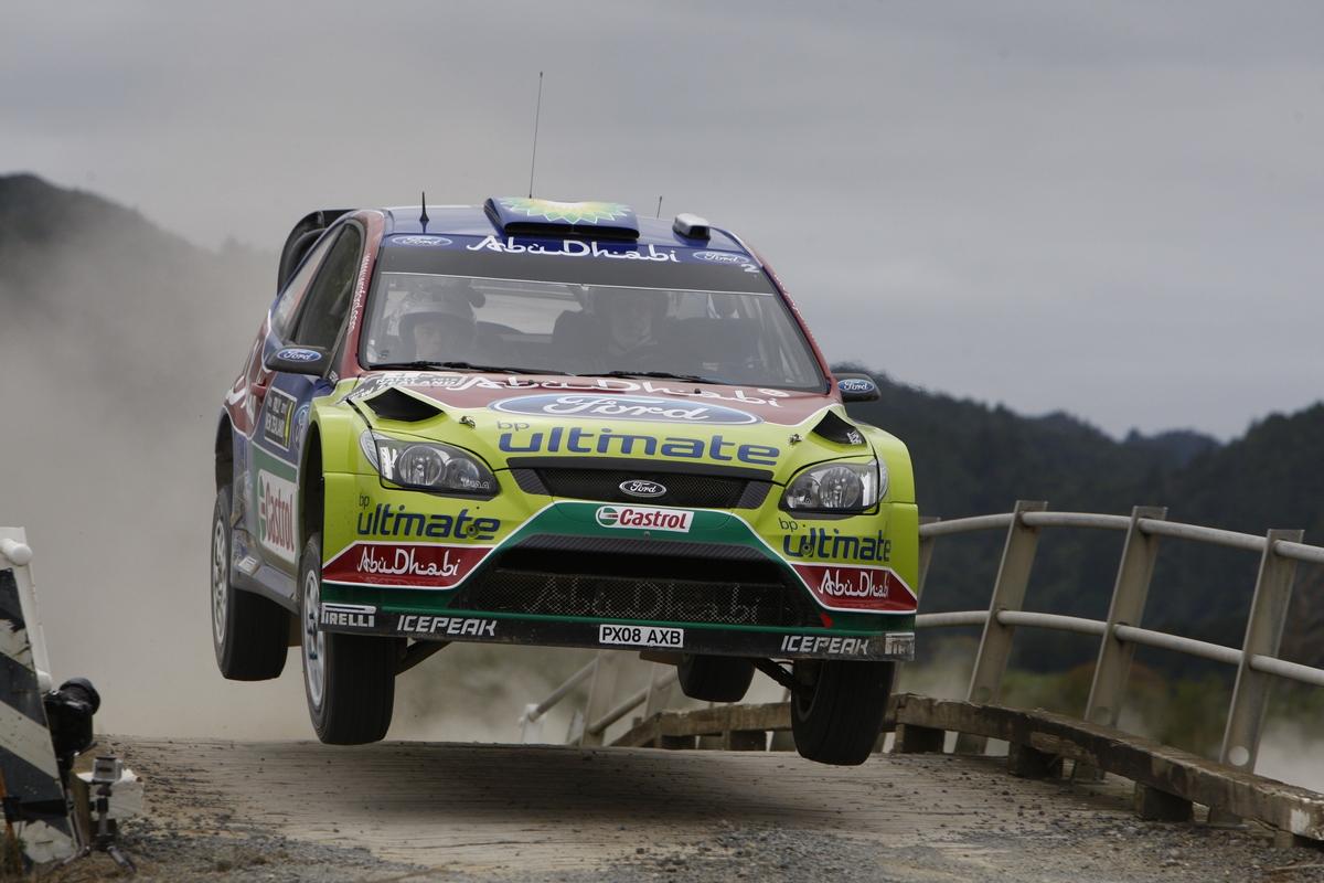 źródło: Eurosport   Latvala na drodze do zwycięstwa w Rajdzie Nowej Zelandii 2010