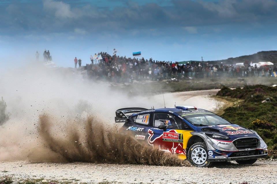 źródło: M-Sport | Sebastien Ogier w drodze do zwycięstwa w Portugalii