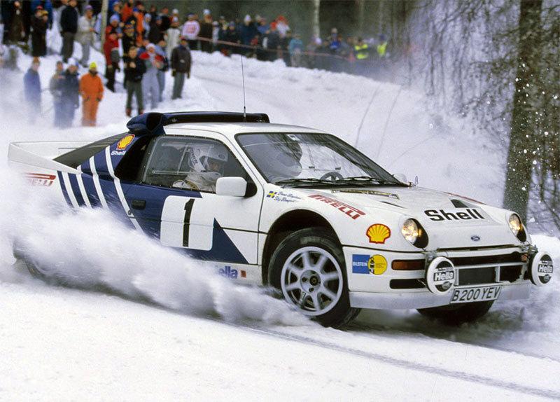 źródło: Ford | RS200 podczas swojego najlepszego występu
