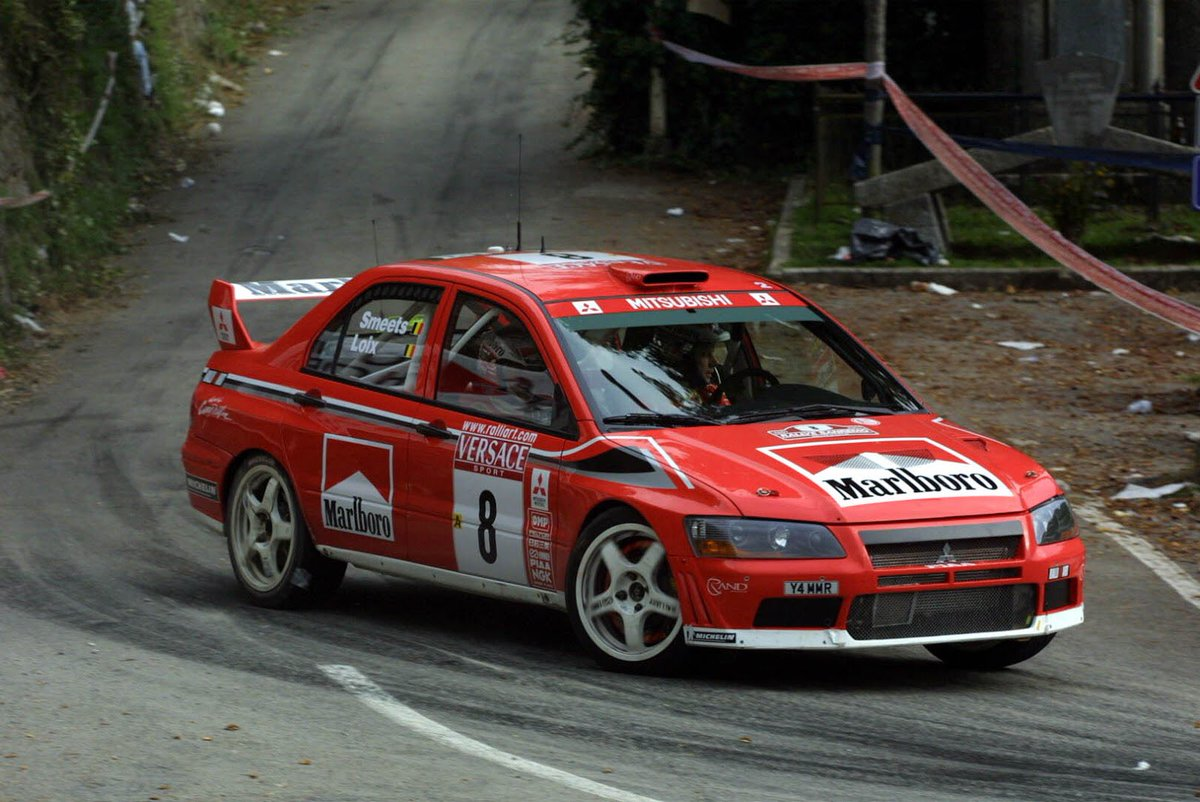 źródło: Mitsubishi | Lancer WRC w trakcie koszmarnego debiutu