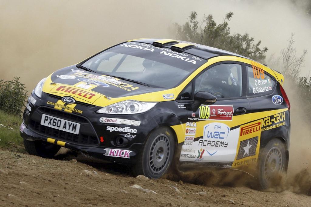 źródło: pirelli | Craig Breen wszedł do Junior WRC szturmem