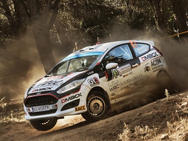 źródło: motorsport.es | Nil Solans mimo talentu, miał problemy z przystosowaniem się do szybszych samochodów