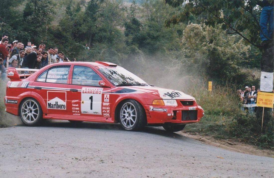 źródło: Rally San Remo Storico | Tommi Makkinen podczas edycji 1999