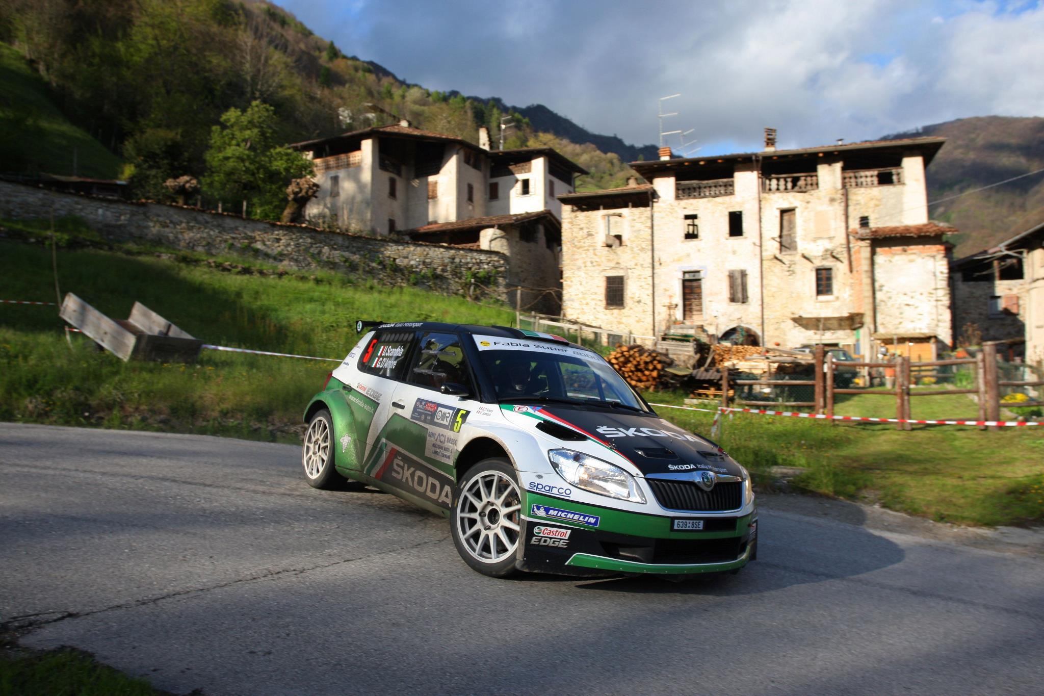 źródło: Rally 1000 Miglia | Umberto Scandola podczas Rajdu Tysiąca Zakrętów