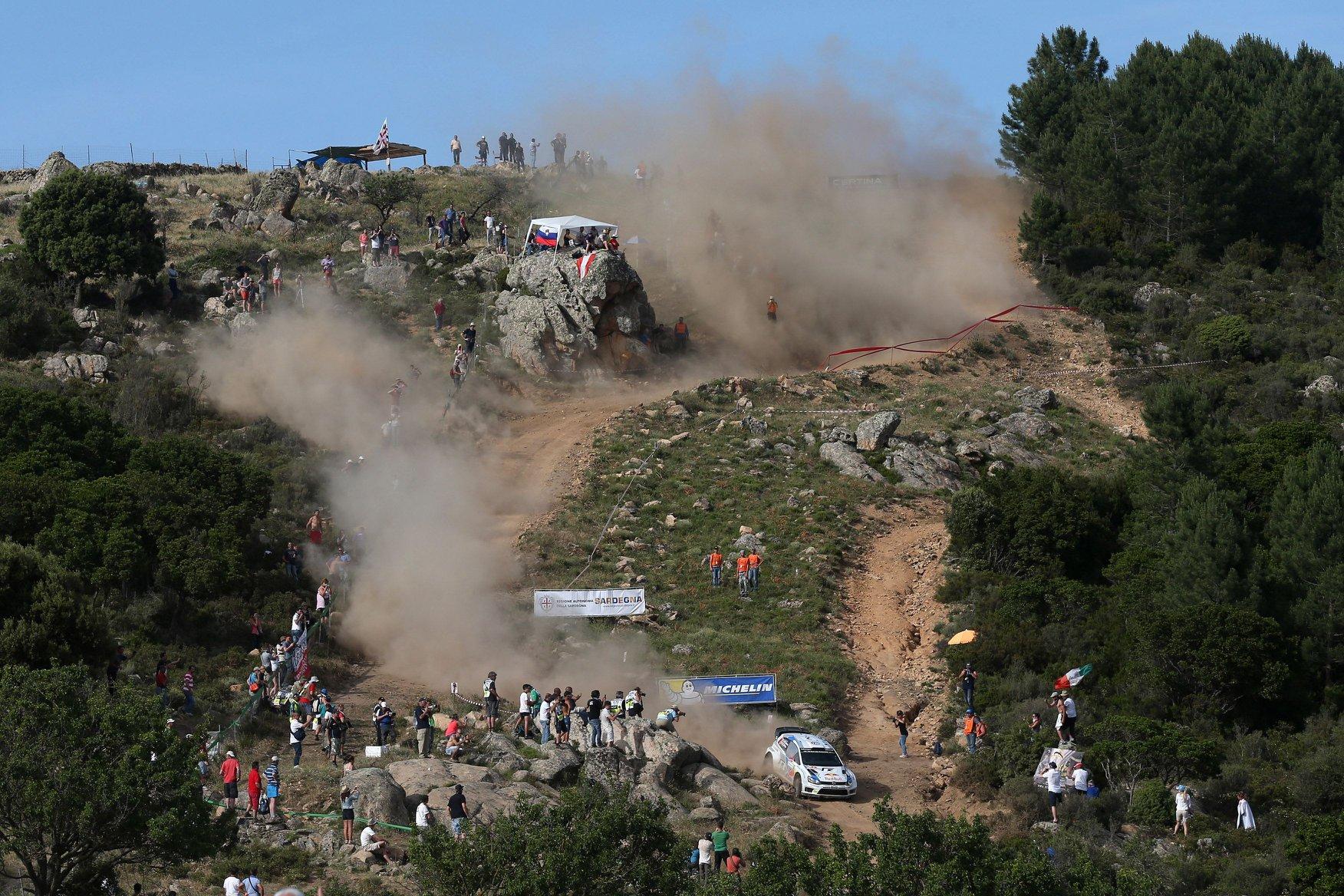 źródło: Rally Italia Sardegna | Charakterystyczny krajobraz Rajdu Sardynii