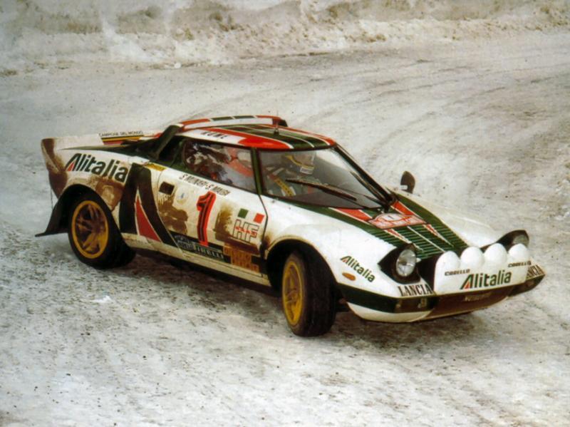 źródło: Project Lancia | Stratos zdominował rywalizację w WRC w latach 70.