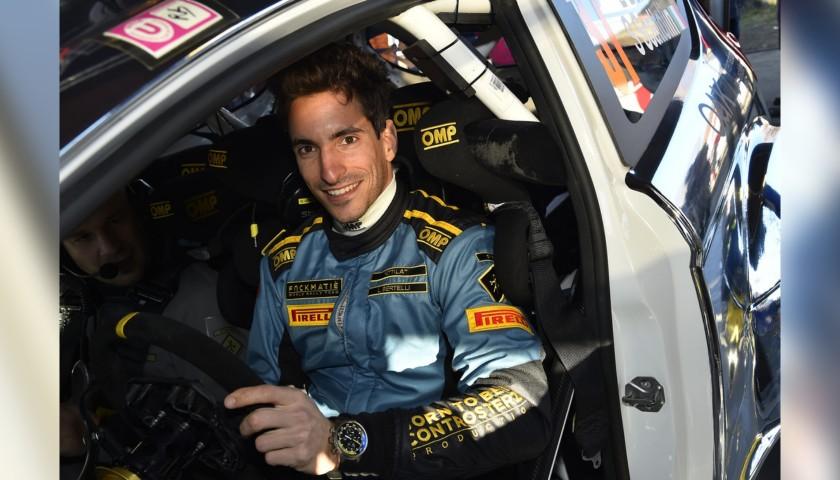 źródło: FWRT | Lorenzo Bertelli po dziś dzień jest ostatnim Włochem, który pojechał w najwyższej klasie podczas rundy WRC