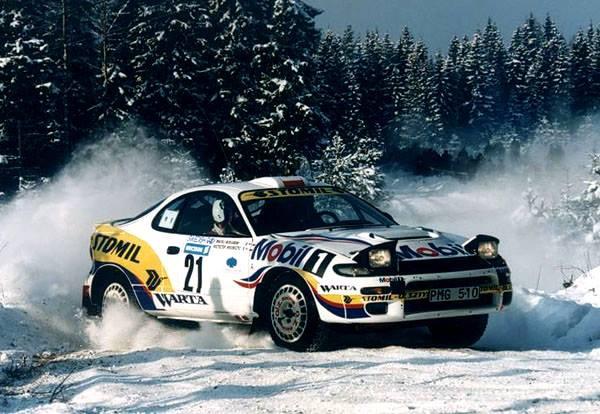 źródło: fb/Krzysztof Hołowczyc | To jedyne zdjęcie z debiutu Hołowczyca w WRC jakie udało mi się znaleźć