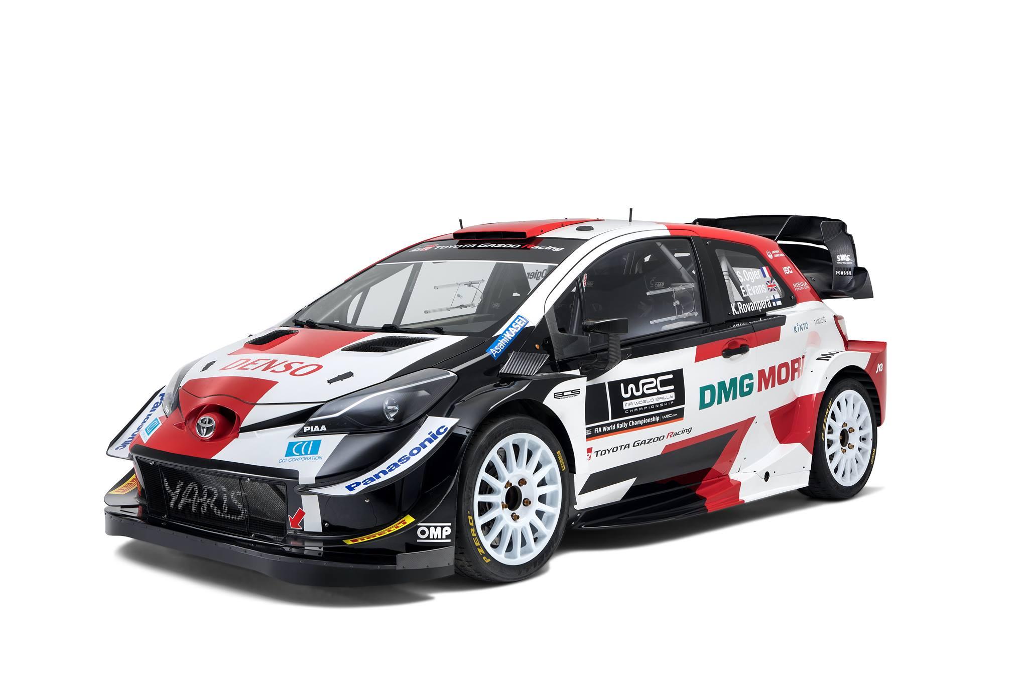 źródło: Toyota Gazoo Racing WRC   Toyota wreszcie zmieniła malowanie, lecz nie wygląda ono tak dobrze jak na LMh