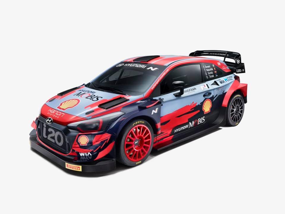źródło: Hyundai Motorsport   Hyundai tylko minimalnie zmienił swoje oklejenie